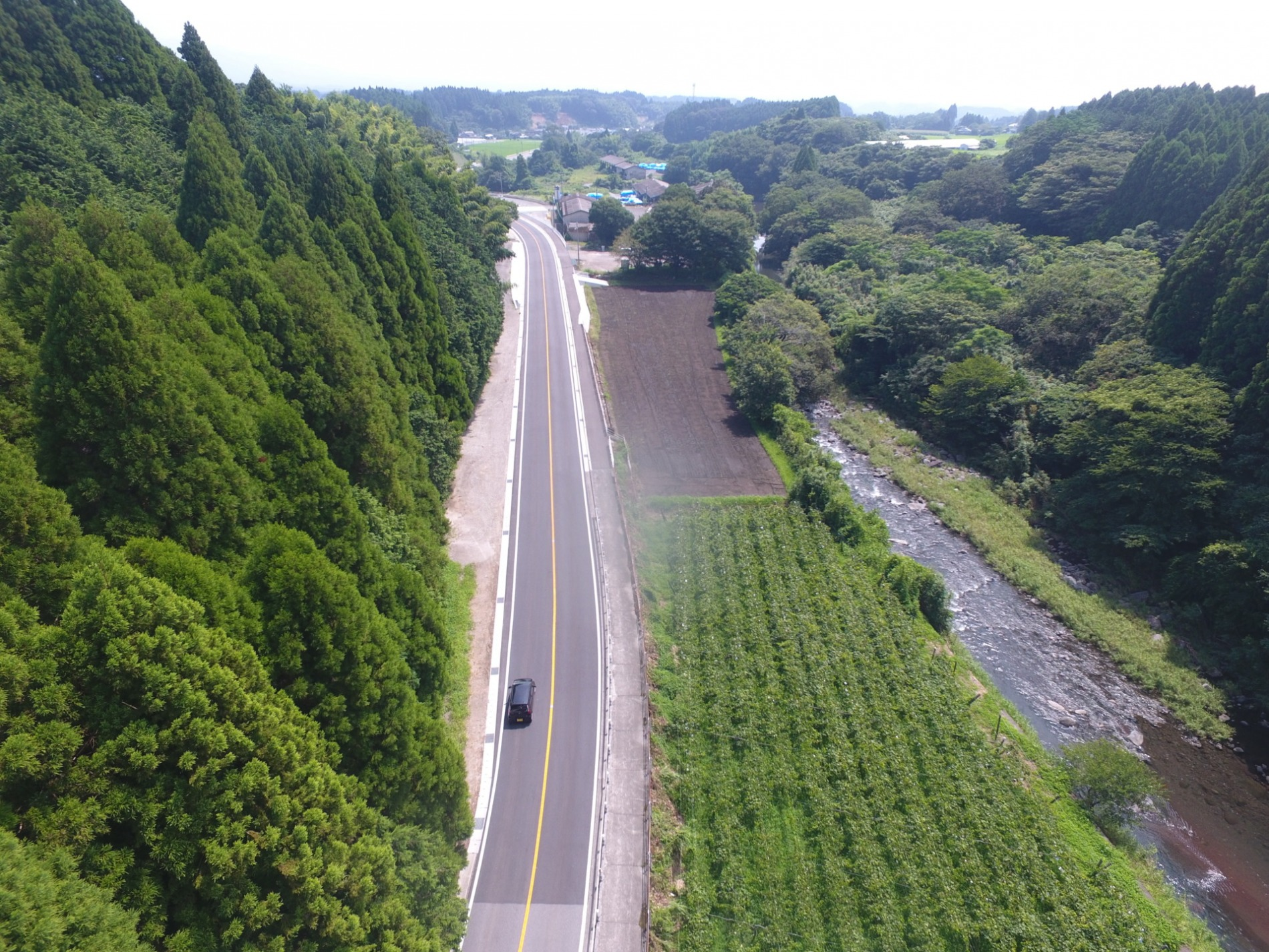 一般国道221号 種子田工区 道路改良工事(4工区)完成