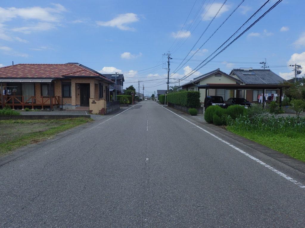 県単維持第04-1–号 主要地方道都城東環状線 蓼池工区 舗装補修工事着手前