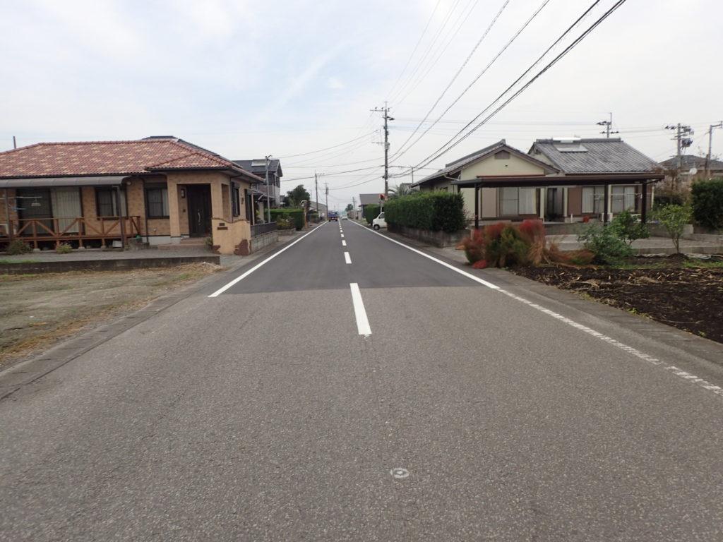 県単維持第04-1–号 主要地方道都城東環状線 蓼池工区 舗装補修工事完成