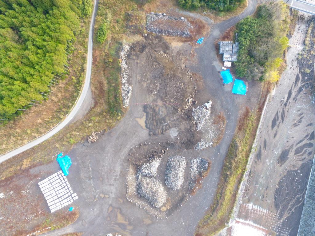 大淀川水系砂防施設設備保全工事除石前