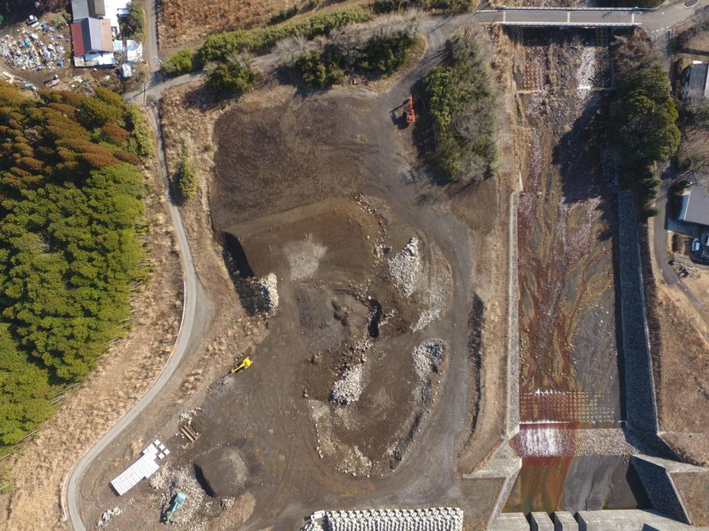 大淀川水系砂防施設設備保全工事除石完了