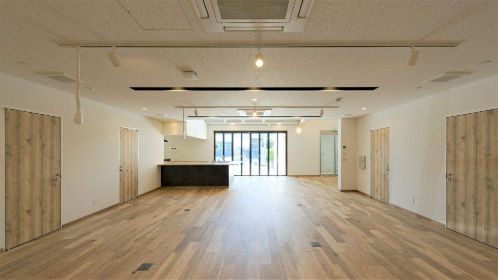 青島計画1階 コワーキングスペース