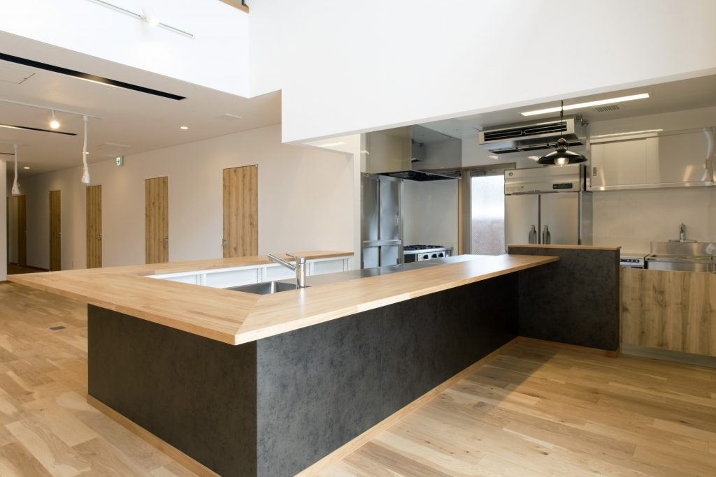 青島計画1階 キッチン