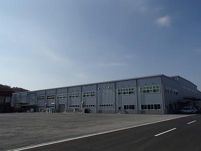 株式会社共立電機製作所三高テクノ工場 工場棟【工場外観】