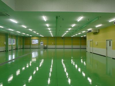 (仮称)FOT清武工場新築工事【工場内部】