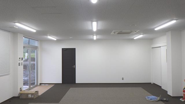 (仮称)ツルヤ都城物流センター新築工事【事務室】