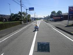 県道京町小林線 上江工区 舗装打換工事(1工区)④着手前