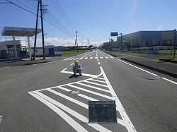 県道京町小林線 上江工区 舗装打換工事(1工区)⑤着手前