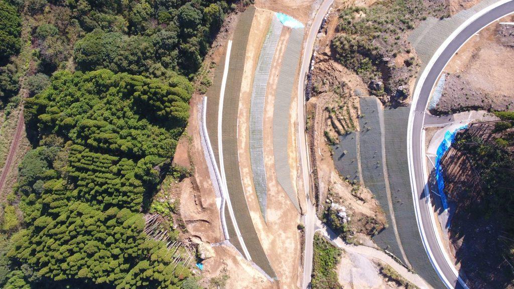 平成31年度交付建設第34-1-4-号 一般国道447号 真幸工区 道路改良工事(4工区)完成