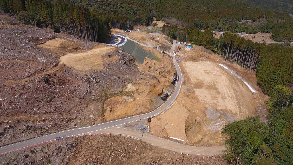 平成31年度交付建設第34-1-4-号 一般国道447号 真幸工区 道路改良工事(4工区)着工前