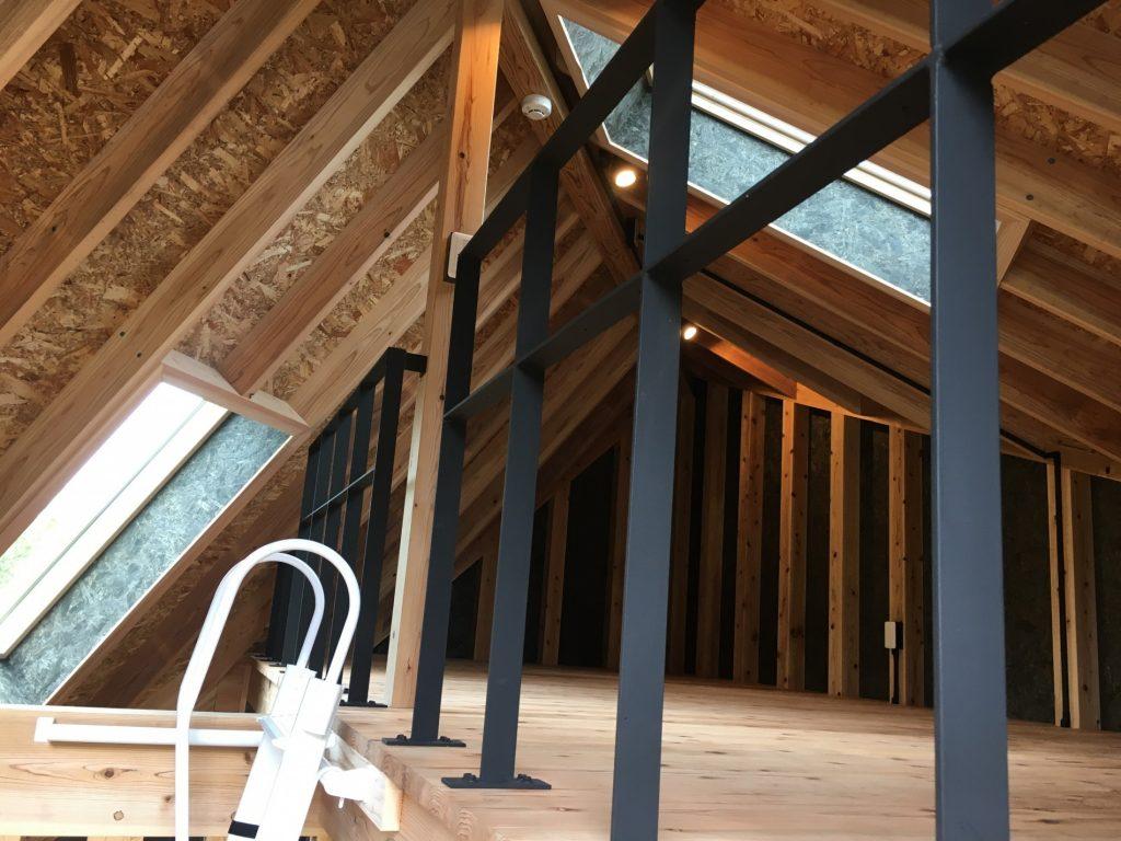 宮崎県ひなもり台県民ふれあいの森オートキャンプ場 木造キャビン整備事業1号棟ロフト
