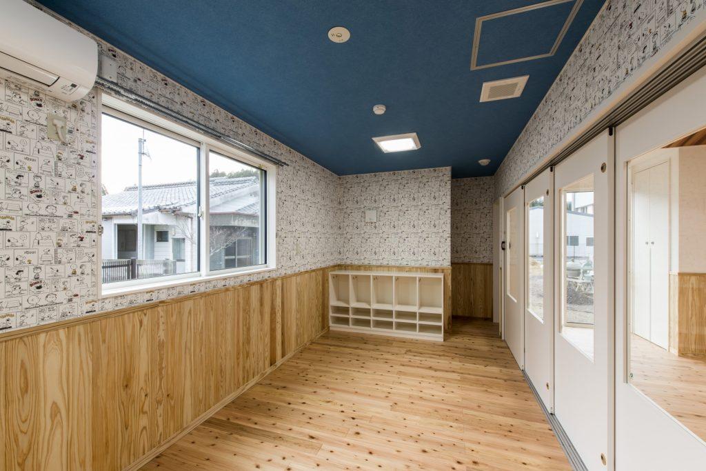 みなみえびの保育園新築工事一時預かり保育室