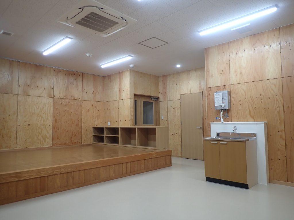 令和元年度 合板・製材・集成材生産性向上・ 品目転換促進対策事業 管理棟建設工事休憩室