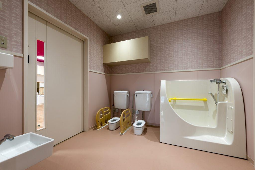 みなみえびの保育園新築工事沐浴室