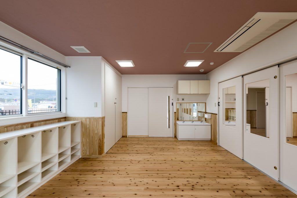 みなみえびの保育園新築工事4歳児保育室